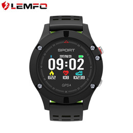 Wholesale Thermometer Bracelet - 2018 Special Offer Android New F5 Smart Bracelet Heart Rate Monitor Altitude Meter Thermometer Pedometer Wristband with Oled Color Screen