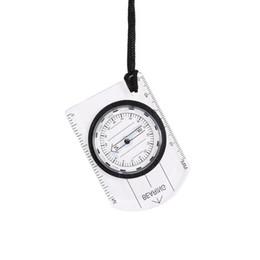 2019 bússola de bolso antiga por atacado Multifuncional Mini Compass Mapa Escala Régua Ao Ar Livre Caminhadas Camping Kit de Sobrevivência Exibição Portátil Bússola de Navegação