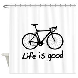 Rideau de douche en tissu noir en Ligne-La mémoire de la vie moderne est bon