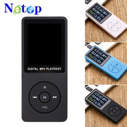 mp3 player blue bluetooth mini Coupons - Netop New sports MP4 MP3 music player Mini Walkman student 1.8 Inch screen plug-in MP4 factory