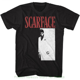 T-Shirt Hipster Harajuku Brand T-shirt abbigliamento Scarface Meng Black T-shirt manica corta per adulti da