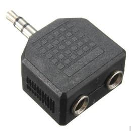 2019 or convertir 3.5mm 1 mâle à 2 femelle audio splitter adpater pour casque écouteur conversion connecteur splitter casque