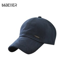 716a223678b NIBESSER Baseball Caps Boys Girls Unisex Snapback Hats Women Men Adjustable  Fashion Flat Hat Cotton Hat Hip Hop Caps