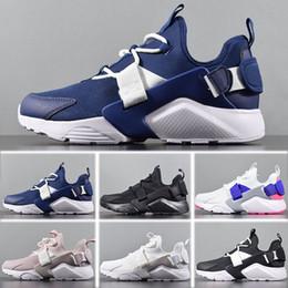 35ba05809f9 Nike Air Huarache City Low men shoes Nike Air Huarache Run Ultra Calzado de  running Hombre mujer Triple Blanco Negro rojo gris para hombre mujer  Huaraches ...