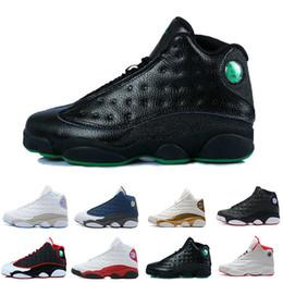 Capitano sportivo online-Hot New 13 13s scarpe da basket uomo Captain America Bred Brown He Got Game sneakers da donna sportive da ginnastica scarpe da corsa per uomo designer