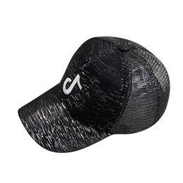 FeiTong lentejuelas Flashes gorra de béisbol para mujeres bordado musical Hip  Hop hueso para hombres mujeres ajustable transpirable sombrero de malla 2d57affbf5f
