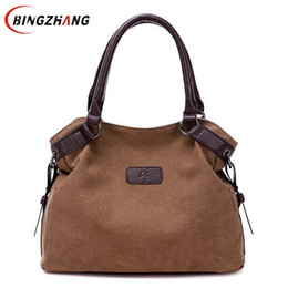 Wholesale large brown hobo - Luxury Brands Bags Handbags Women Crossbody Messenge Bag Large Capacity Bag Designer Canvas Casual Travel Crossbody Bags L4-3110