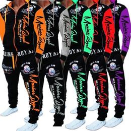 ZOGAA Uomo Track Suit Giacca con cappuccio Tuta sportiva Tute Nuovo  Sportwear Set da jogging maschile Tuta stampata Uomo Abbigliamento vestiti  da uomo ... 29874e7d479