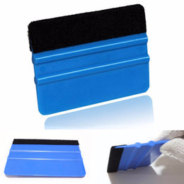 Wholesale Car Wrap Squeegee - 1PC New Hot Practical Durable Felt Edge Wrap Scraper Squeegee for Car Window Film Vinyl