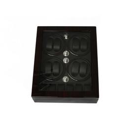 Wholesale Case Bb - Watch Winder ,LTCJ Wooden Automatic Rotation 8+6 Watch Winder Storage Case Display Box (BB)