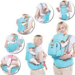 Wholesale Belts Hold Babies - Belts & Suspenders Baby sling Multi-function Single Shoulder Stool Waist Baby Sitting Waist stool Newborn Child Hold Baby Waist Stool