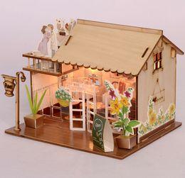 modelos de papel Rebajas Habitación del bebé Decoración del hogar Modelo de casa de muñecas Muebles DIY Kit de rompecabezas 3D Juguete de papel de madera lindo encantador ensamblar regalo