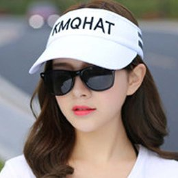 8a583093530 Summer Sun Hats Outdoor Running Caps Men And Women Sports Sun Cap  Breathable Comfortable Tennis Hat Free Shipping Sale