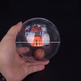Wholesale Flash Shots - Mini Flash Music Handheld Basketball Toys Shoot Basket Game Reduce Pressure Fidget Toy Christmas Gifts For Children 6 37wt C