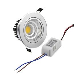 2019 iluminación empotrada led retrofit Lámpara de techo empotrable LED Spot Light Light Dimmable AC110V 220V 6W / 9W / 12W / 15W / 15W empotrada LED luz empotrada