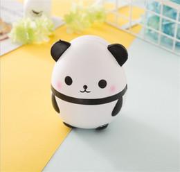 Fotokuchen online-Kawaii Cartoon Tier Squishy Mini Panda Ei Squishies Foto Requisiten Süße duftenden Brot Kuchen Squeeze Langsam Steigenden Spielzeug 19jq Y