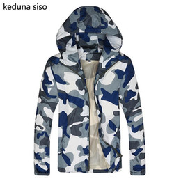 Wholesale Veste Camouflage - Wholesale- 2016 Hot Sale Hooded Camouflage Men's Jacket Men Coats Jumper Blouson Famous Brand Sportswear Jako jaqueta masculina veste h