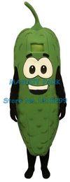 2019 abito di fantasia vegetale di alta qualità verde pickle vegetale cartoon mascotte costumi adulto dimensione pickle tema anime costumi carnevale fancy dress abito di fantasia vegetale economici