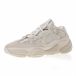 shoes blush Coupons - Unisex Kanye West Desert Rat 500 Shoes Blush Supper  Moon Yellow Utility dbd824754