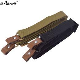 fusil de rifle táctico Rebajas Sinairsoft Tactical AK Rifle Sling Airsoft Pistola Ajustable Correa de Hombro Anti-lágrimas Cuerda de Nylon Al Aire Libre Camping Caza Accesorio