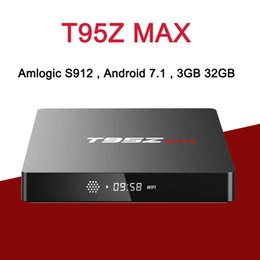 T95Z Max S912 Android 7.1 TV Box 3GB RAM 32GB ROM Octa Core Banda dual 2.4 / 5G WIFI HD 4K 1000M LAN Smart Media Player Set Top Box desde fabricantes