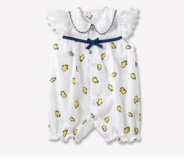 ropa de pinguino Rebajas ropa de bebé verano niños niños escalada mameluco 100% algodón cuello redondo estampado de pingüino completo mameluco niños peleles lindos 0-2T