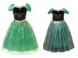 Canada 2 Couleurs De La Mode Élégante et Belle Princesse De Noël Robes Robes Hallowmas Cosplay Parti Princesse Costume De Fleur Robes D'impression Offre