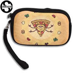 SAMCUSTOM Custom Delicious pizza 3D Print Neue Frauen kleine Geldbörse männlich und weiblich Kleine Brieftasche Mode Lässig Mädchen Geldbörse von Fabrikanten