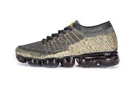 Wholesale Designer R - 2018 Vapormax black white Trainers Breathe Running Shoes For Mens fashion designer R vapormaxs Knit Runner cs Sneakers Sports Shoes 40-45