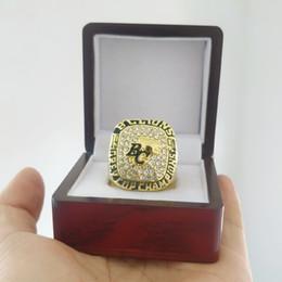 2019 anillos grises de la taza Nueva Llegada Campeones anillo 1994 BC Leones La 82a Copa Gris Anillo Campeonato Ventilador Regalo de alta calidad al por mayor Envío de La Gota anillos grises de la taza baratos