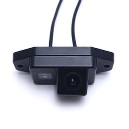 câmera de estacionamento toyota Desconto Câmera de Backup de Câmera de Retrovisor Do Carro CHENYI Para Toyota / Prado / Land / Cruiser 120 Câmera de Estacionamento Reverso