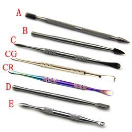 Wax Oil Dab Stick Cire Dab Tool 8 styles or argent arc-en-couleurs de couleur Dabber Tool Pour Pax Vaporisateur Ago Atmos Skillet Globe Tank ? partir de fabricateur