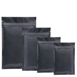 2019 pack cadeau du nouvel an chinois Le sac de tirette de papier d'aluminium de sacs de Mylar noir pour le stockage de nourriture à long terme et les objets de collection protègent le côté coloré 900pcs de deux