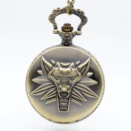2019 relógio de medalhão de quartzo O mostrador analógico pingente colar de homens presente Cadeia Mulheres Relógios jogo Cosplay quartzo relógio de bolso Preto