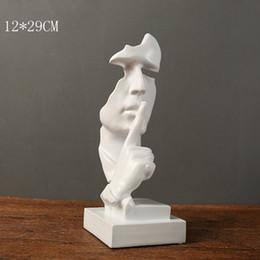 Perfekt Lebende Skulptur Rabatt Nordische Moderne Stille Ist Eine Goldabstrakte  Skulptur Artware, Die Mit Bürowohnzimmer