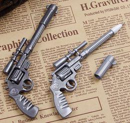 Canada 2 pcs lot Novelty Toy Roscoe Fiveshooter Gun Ballpoint Pen Cute Funny Kawaii Pens Canetas Rollerball Pen School Supplies Offre