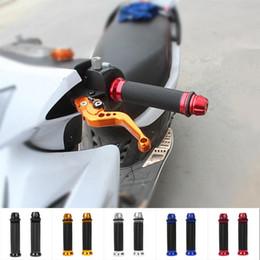 2019 ручки для ручек 22 мм 2 шт./компл. 22 мм универсальный мотоцикл спортивный велосипед резиновый руль ручка крышка 5-цвета руль крышки дешево ручки для ручек 22 мм
