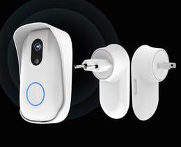 Cámara de seguridad vstarcam online-VSTARCAM D2 HD 720 P WIFI Senza Fili Campanello Smart Camera Viewer Sistema de Seguridad para el Hogar Gran Angular Alarma Digital Doorcam Anello campana