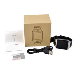 2019 двухсторонний сотовый телефон DZ09 Smart Watch Dz09 Часы Браслет Android Watch Smart SIM интеллектуальный мобильный телефон сна состояние смарт-часы Розничный пакет