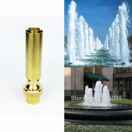 """Bicos de spray de latão on-line-3/4 """"1"""" 1.5 """"cabeça de borbulhagem Ar-Misturada de bronze do bocal da fonte dos bicos do jato para a lagoa do jardim"""