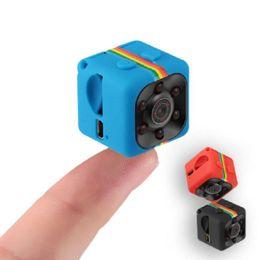 Canada Date Mini Caméra HD 1080 P Vision Nocturne Caméscope Voiture DVR Infrarouge Enregistreur Vidéo Sport Appareils Photo Numériques Soutien TF Carte DV Cam SQ11 Offre