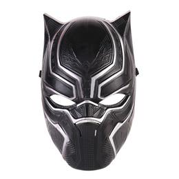 Black Panther Visage Masque Halloween Réaliste Hommes Latex Party Masque De Noël PVC Cosplay Costume Adultes Mascarade De Noël Film Fantastique ? partir de fabricateur