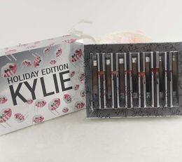 Wholesale Mua Lipstick - Hot sale Kylie 12 Days of Christmas Lipstick Vault Holiday Lipstick 12pcs set Matte Liquid Lipgloss Lips Makeup naked tarte lorac mua