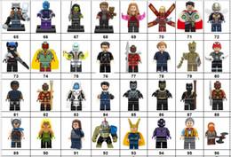 Wholsale Super hero Mini Figuras Marvel Vingadores DC Liga da Justiça Mulher Maravilha Ironman Batman Deadpool blocos de construção de crianças presentes de Fornecedores de teste de pc