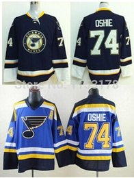 Wholesale factory outlet baby - Factory Outlet- Free shipping st .louis blues jersey 74 TJ Oshie dark blue and baby blue jerseys ( number and name is stitched)