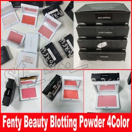 Wholesale Deep Throat - New Rihanna Invisimatte Blotting Powder face pressed powder Orgasm Deep Throat Sex Appeal Universal 4 colors