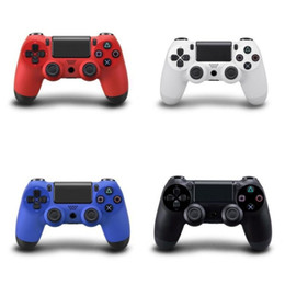 Controladores ps2 inalámbricos online-2018 Bluetooth Wireless PS4 Controller para PS4 Vibration Joystick Gamepad PS4 Game Controller para Sony Play Station 4 5 colores gratis DHL