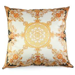 Soie de luxe royal glands oreiller couverture Cojin Home Decorative 18 Pouces Sofa Chaise Literie Hôtel Coussin Décoratif Couverture 45 cm * 45 cm ? partir de fabricateur