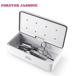 sterilisator nagel salon Rabatt UV-Sterilisator-Schönheits-Werkzeug-Sterilisator-Kasten-tragbare Desinfektions-Kasten-Salon-Nagel-Kunst-Werkzeuge