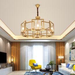 luces de techo colgantes para dormitorio Rebajas Moderno LED doble espiral lámpara de oro de iluminación para Foyer escalera dormitorio del hotel Hall techo suspensión colgante lámpara